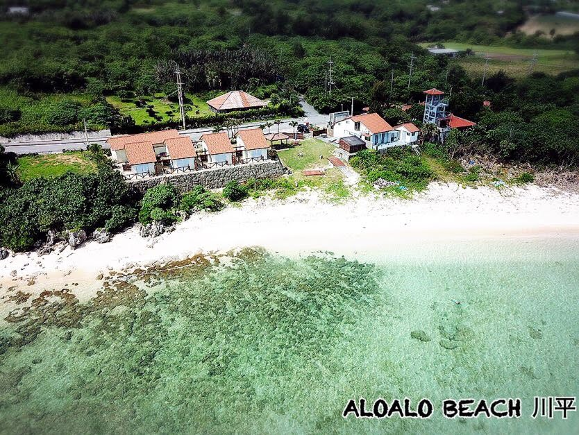 ALOALO海側からの空撮写真2