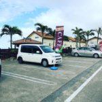 「Aloalo Beach 川平」駐車場