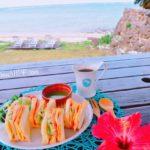 サンドウィッチ[スープ・サラダ付] ¥800