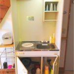 各コテージ室内キッチン