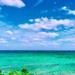 ALOALO BEACH 川平の目の前の海